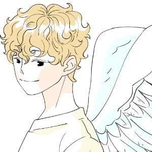 날개 있는 천사 천씨청년